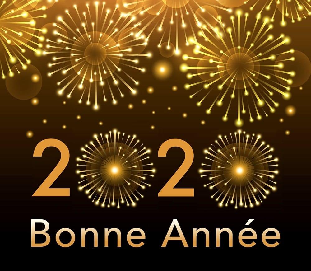 Nous vous souhaitons une bonne année 2020!!! 1